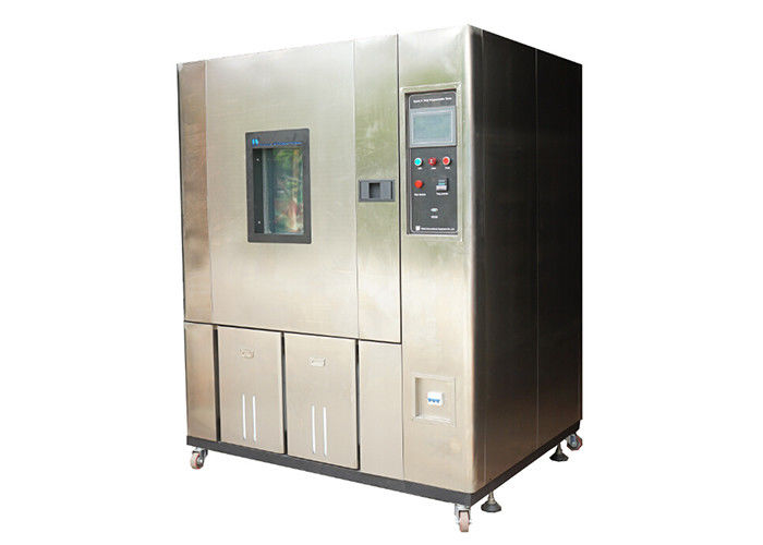 Environmental Constant Temperature Humidity Chamber / Climatic Test Chamber Air Cooling